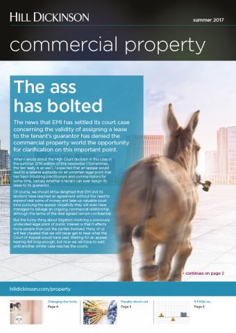 Commercial property newsletter Summer 2017 | Hill Dickinson